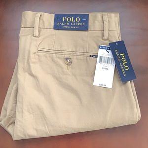 Polo Ralph Lauren slim fit khakis NWT